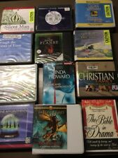 HUGE LOT OF 49 Audiobook CD lot various authors wholesale. Free shipping (lot 3)