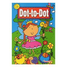 A4 Kids Dot To Dot Puzzle Book School Child Activity Children Kids Colouring