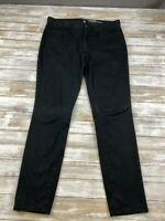 GAP ALWAYS SKINNY WOMEN SIZE 10 REGULAR BLACK PANTS EUC