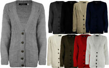 Unbranded Patternless Button Jumpers & Cardigans for Women