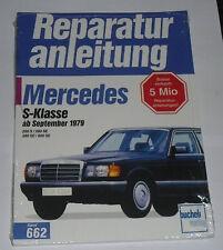Reparaturanleitung Mercedes W126 C126 S-Klasse 280 / 380 / 500 S SE SEL SEC
