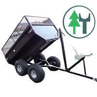 Anhänger Tandem 400T für Traktor Kleintraktor Schmalspurschlepper ATV Quad