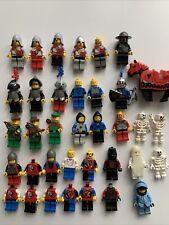 Lego Rare Vintage Minifigures Collection Castle Forestmen Kingdoms