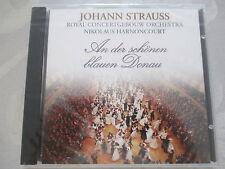 Johann Strauss: An der schönen blauen Donau - Harnoncourt - CD Neu OVP NEW