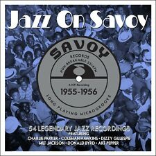 3 CD BOX JAZZ ON SAVOY 1955 - 1956 PARKER HAWKINS GILLESPIE PEPPER BYRD JACKSON