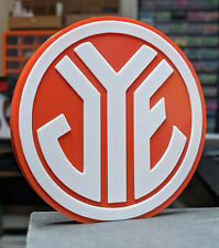 Decorative JYESA self standing logo display