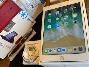 Apple iPad mini 3 (16gb) Wi-Fi (A1599) Retina 7.9in/ Gold {iOS12}92% Needs LCD