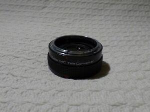 Vivitar MC 2X-4 Camera Teleconverter Lens – Canon FD Mount