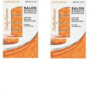 2 Sets - Limited Edition SALLY HANSEN SALON EFFECTS Real Nail Polish Strips
