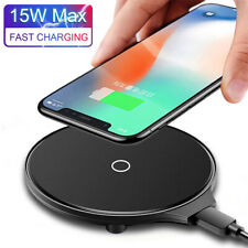 15W Qi Wireless Charger Fast Charging Pad Mat For iPhone 11 Pro Max XS X 8 Plus