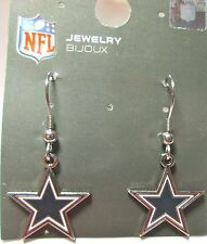 NFL DALLAS COWBOYS STAR DANGLE EARRINGS 2012