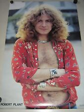 "Led Zeppelin - Robert Plant / Original ""72"" UK poster / Exc.+New cond.  22 x 34"