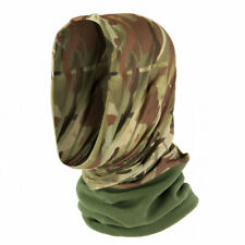 Camo Stretch Fit MTP Compatible Hunting Headover Neck Gaiter Snood Balaclava