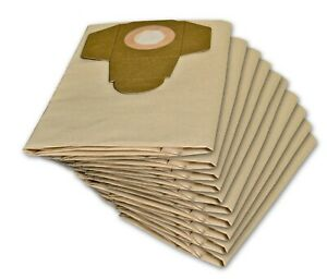 10 Staubsaugerbeutel geeignet für PARKSIDE PNTS 1500 D5