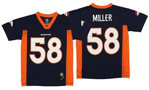 OuterStuff NFL Youth Denver Broncos Von Miller #58 Alternate Player Jersey