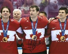 "Patrick Marleau SHARKS CANADA Sochi Olympic Signed Auto 8x10 PHOTO COA ""PROOF"""