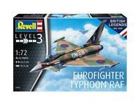 REVELL® 1:72 EUROFIGHTER TYPHOON RAF 'BRITISH LEGENDS' MODEL AIRCRAFT KIT 03900
