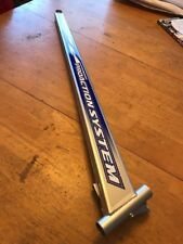 Yamaha Snowmobile SRX SX XT Trailing Arms Right Side New Silver w 2001 SRX Decal