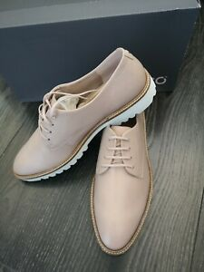 Women's Ecco Oxford Incise Tailored Rose Dust shoes Size UK 7.5 / EU 41