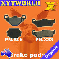 FRONT REAR Brake Pads for KTM MX 250 Brembo Calipers 1992 1993