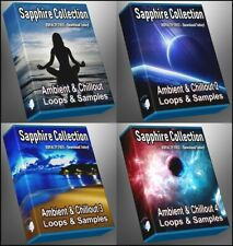Ultimate Sapphire Collection - All Chillout and Ambient 1-4 Megapack WAV Loops