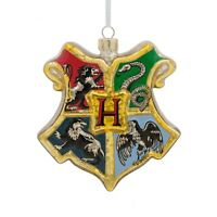 Harry Potter Christmas Ornament Hogwarts Crest Shield Coat of Arms Hallmark 2018