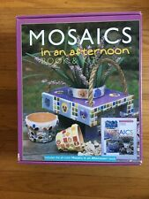Mosaics In An Afternoon Book And Kit Art Box New