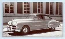 1949 PONTIAC CHIEFTAIN 2-Door Sedan Car Advertising Postcard