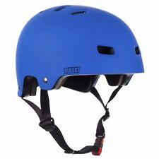 Bullet Santa Cruz DELUXE Skateboard Helmet MATTE BLUE L/XL