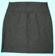EILEEN FISHER Womens Pull On A-Line Skirt Size PL Black EUC #14589