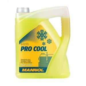 5 Liter MANNOL Pro Cool Kühlflüssigkeit gelb Kühlerschutz Motorrad Roller Quad