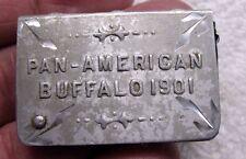 "Vintage 1901 Buffalo New York Pan-American Exposition Match Safe "" Near Mint!! """