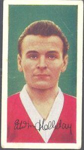 Barratt - Famous Footballers, Series A.8 - 47 - E Holliday, Middlesbrough