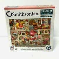"""Smithsonian 1000 Piece Seed Catalog Jigsaw Puzzle 19"""" x 26"""""""