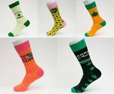Cool Funny Novelty Art Unisex Cotton Socks - CBD - 5 Styles