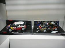 CITROEN DS3 WRC RALLY FRANCE-ALSACE 2012-2013 LOEB IXO 1:43