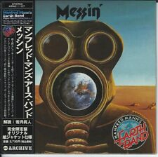 MANFRED MANN'S EARTH BAND MESSIN' JAPAN MINI CD
