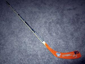 JAKUB VORACEK Philadelphia Flyers Stadium Series SIGNED Hockey Stick w/ COA