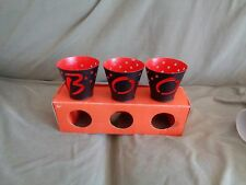Vintage Hallmark 1980 Holloween Three Tealight Candle Holder
