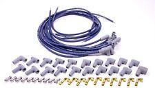 Moroso 73800 Ultra 40 Race Spark Plug Wire Set Universal Unsleeved 8.65mm Blue