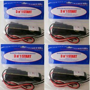4PCS.  3 in1 Start Hard Start Kit Refrigerator Freezers Relay Capacitor RCO810
