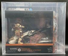 """Star Wars Black Series """"Speeder Bike Scout & Child"""" Amazon Excl. AFA U8.5(A)"""