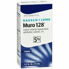 Bausch + Lomb Muro 128 Solution 5% - 15 ML (3 Packs)