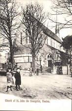 Preston. Church of St John the Evangelist by The Mezzotint Co., Brighton.
