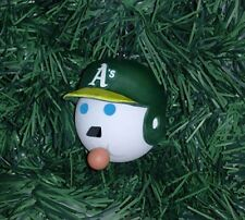 Oakland A's Athletics MLB - Jack-in-the-Box Antenna Ball Custom Hanging Ornament