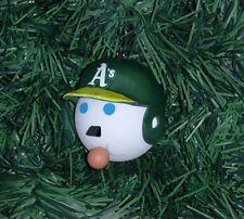 Oakland A's Athletics MLB - Jack-in-the-Box Antenna Ball Custom Hanging Ornament