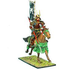 SAM025 Mtd. Samurai Charging w/Yari & Sashimono - Takeda Clan by First Legion