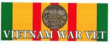 *** VIETNAM WAR VET *** Military Veteran Bumper Sticker BM0081 EE