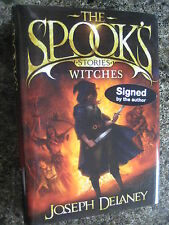 Signed First Edition The Spook's Stories Witches By Joseph Delaney