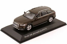 1:43 AUDI a6 ALLROAD QUATTRO c7 2012 Java-Marrone Brown-spacciatore-Edition-OEM